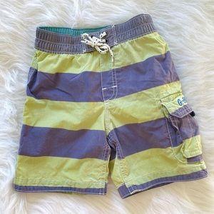 Other - Baby Gap boys striped swim trunks with lining
